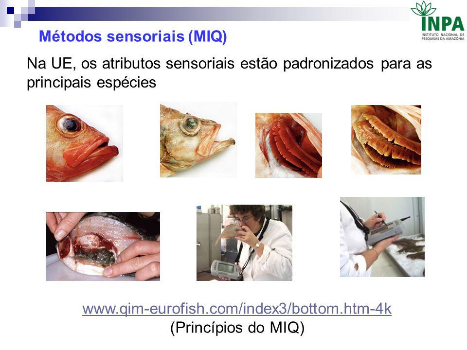 Métodos sensoriais (MIQ)