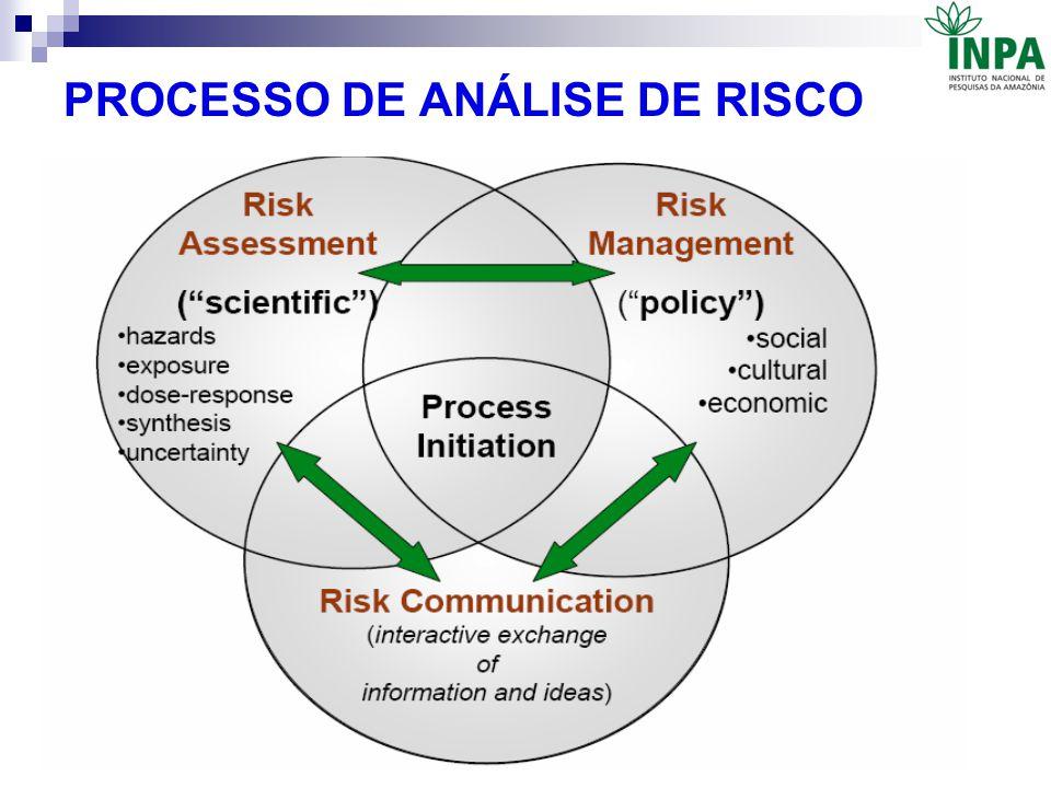 PROCESSO DE ANÁLISE DE RISCO