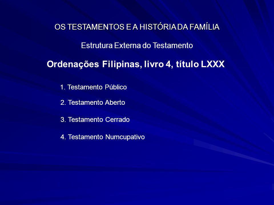 Ordenações Filipinas, livro 4, título LXXX