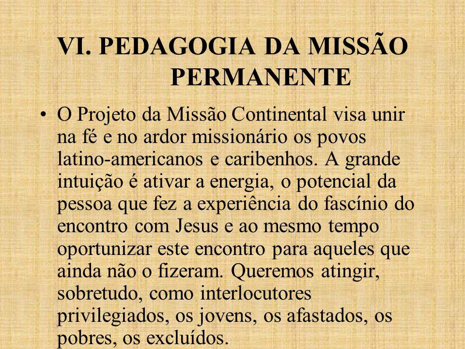VI. PEDAGOGIA DA MISSÃO PERMANENTE