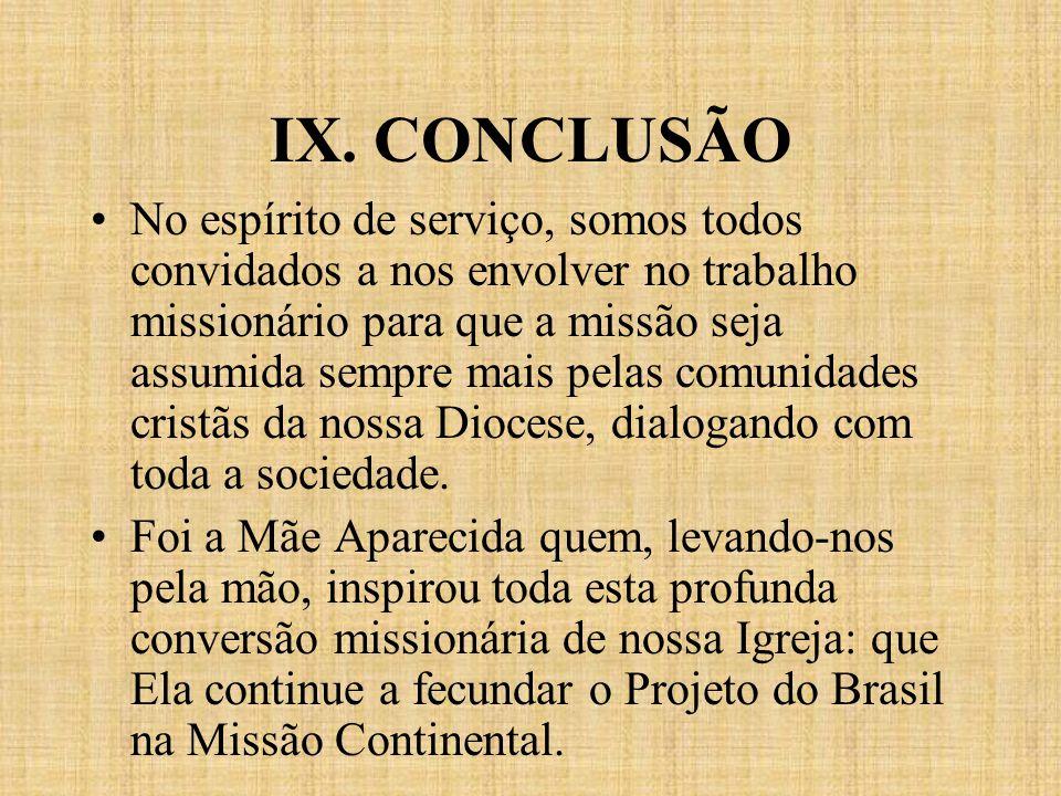 IX. CONCLUSÃO