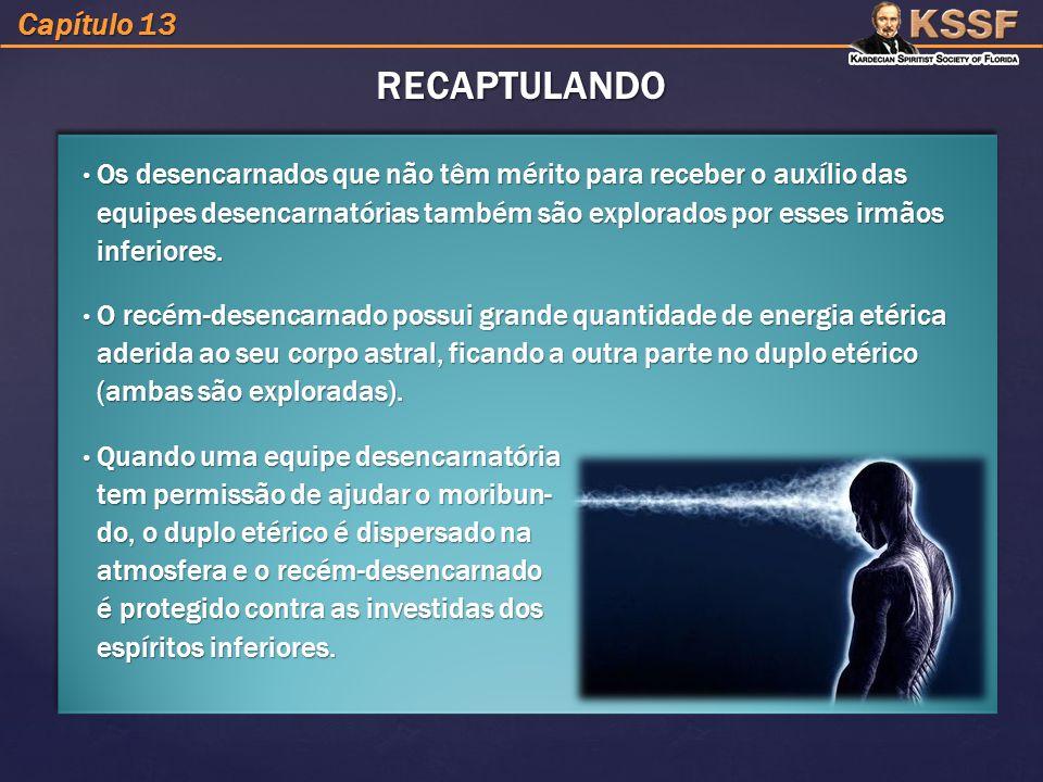 RECAPTULANDO Capítulo 13