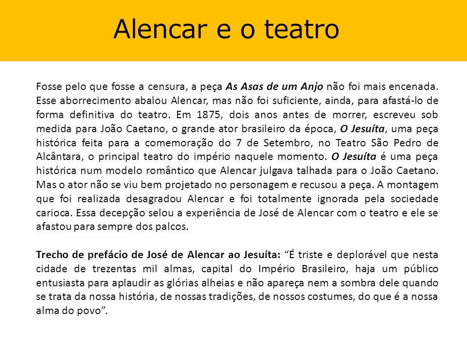 Alencar e o teatro