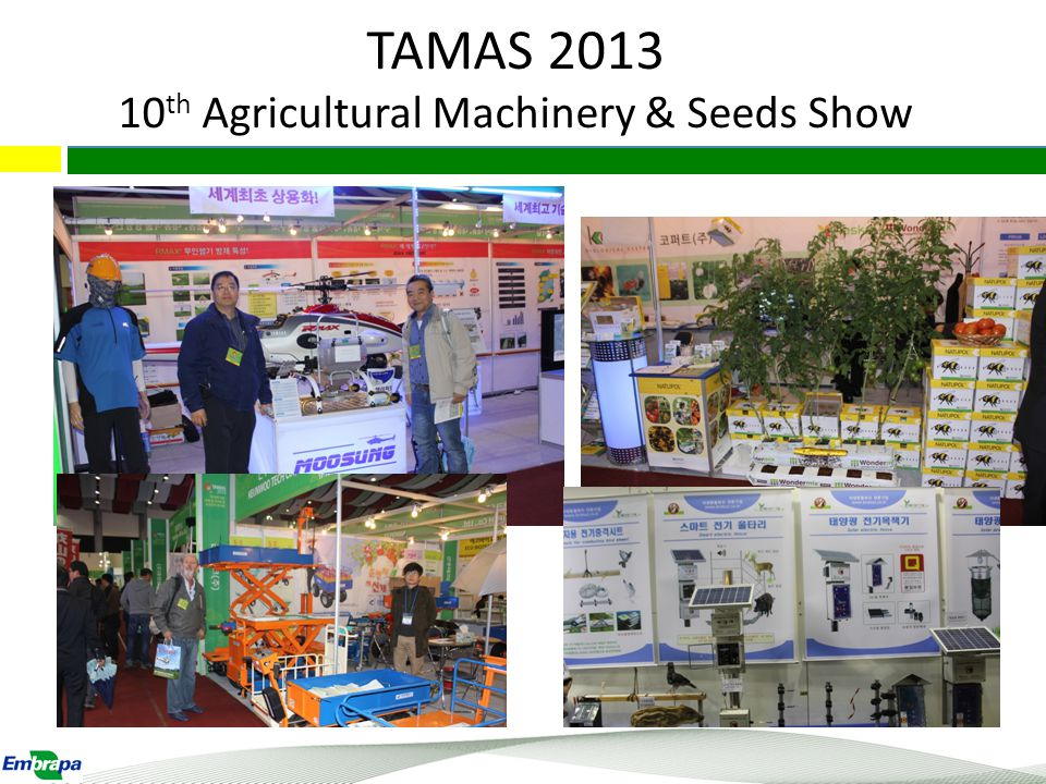 TAMAS 2013 10th Agricultural Machinery & Seeds Show
