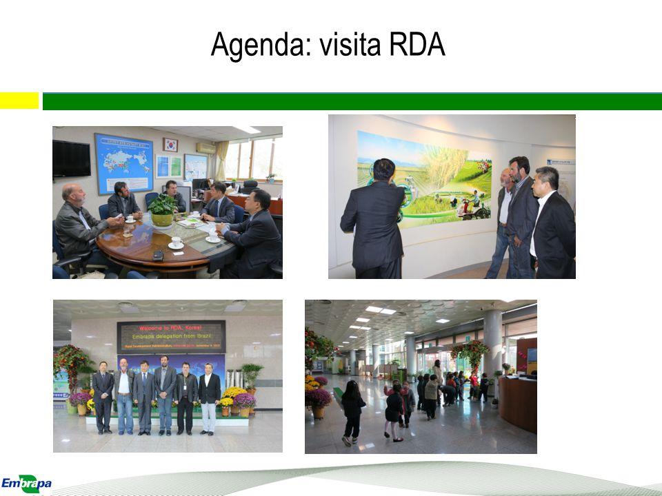 Agenda: visita RDA 4