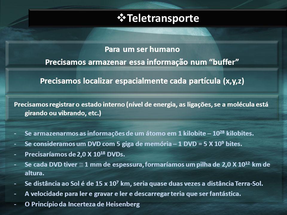Teletransporte Para um ser humano