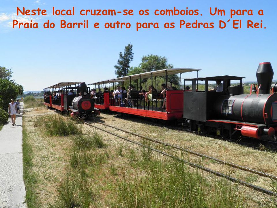 Neste local cruzam-se os comboios