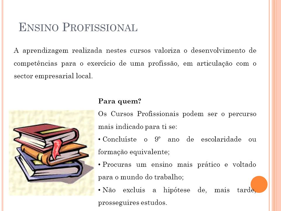 Ensino Profissional