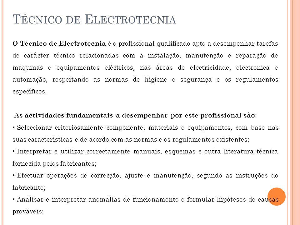 Técnico de Electrotecnia