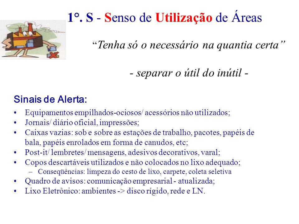 1°. S - Senso de Utilização de Áreas