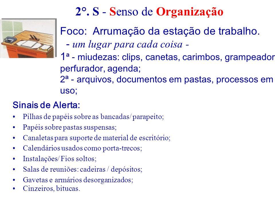 2°. S - Senso de Organização