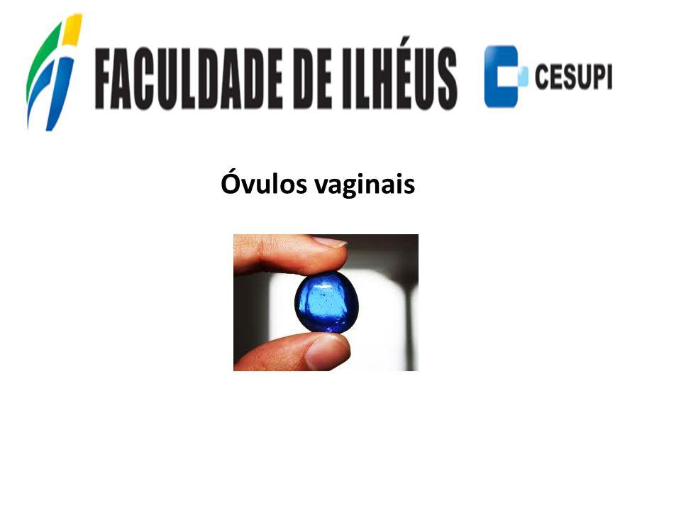 Óvulos vaginais