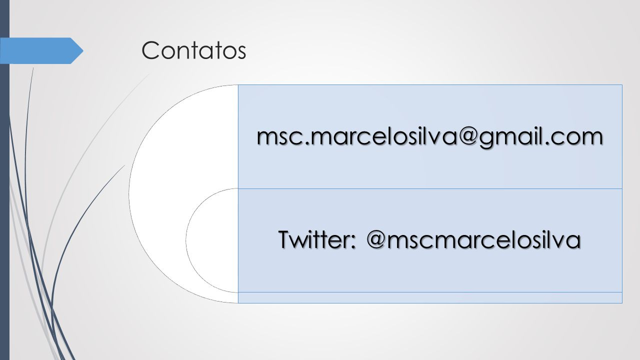 Twitter: @mscmarcelosilva