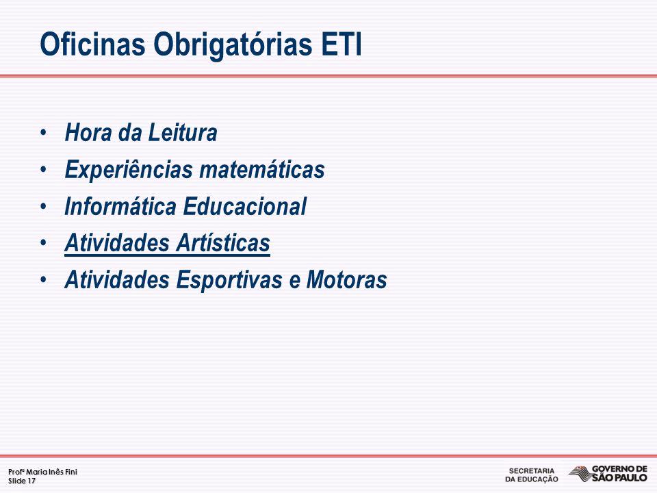 Oficinas Obrigatórias ETI
