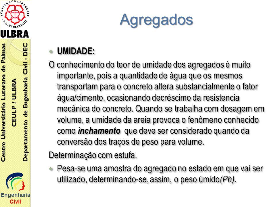EngenhariaCivil Centro Universitário Luterano de Palmas. Departamento de Engenharia Civil - DEC. CEULP / ULBRA.