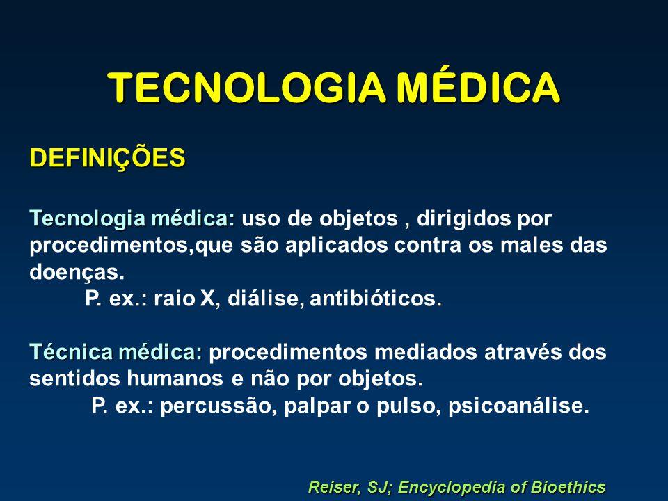 TECNOLOGIA MÉDICA DEFINIÇÕES
