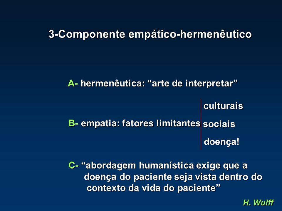 3-Componente empático-hermenêutico
