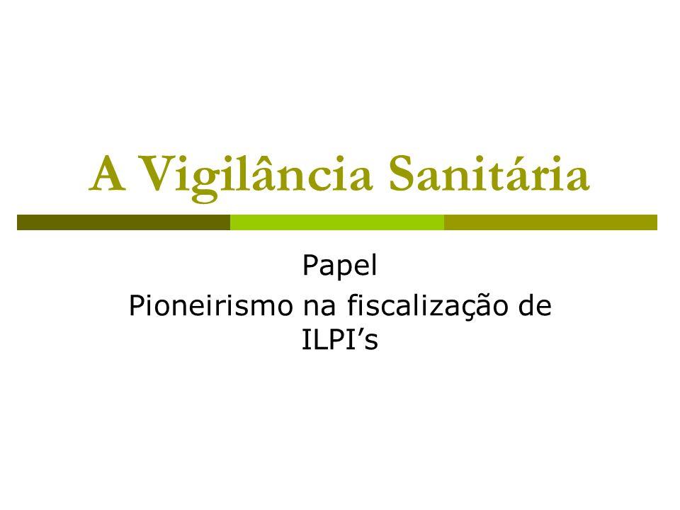 A Vigilância Sanitária