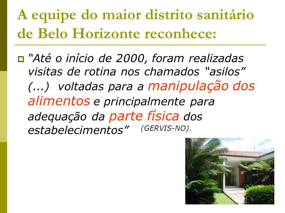 A equipe do maior distrito sanitário de Belo Horizonte reconhece: