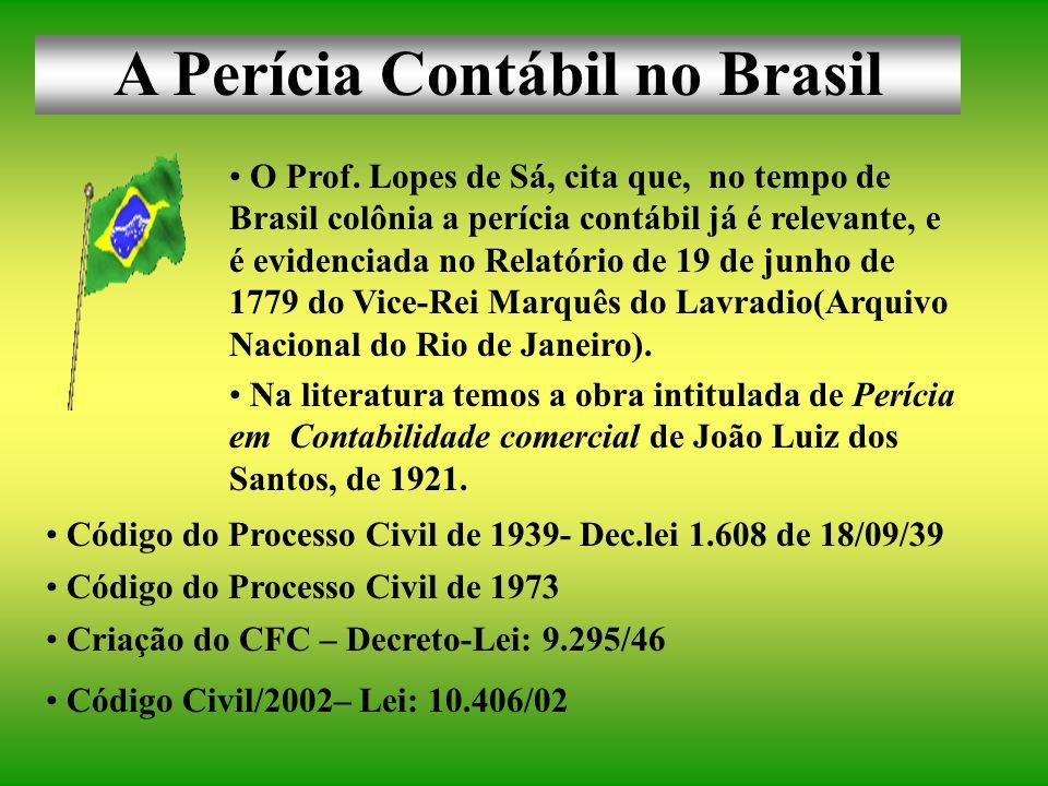 A Perícia Contábil no Brasil