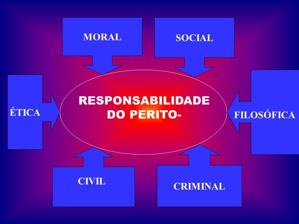RESPONSABILIDADE DO PERITO-