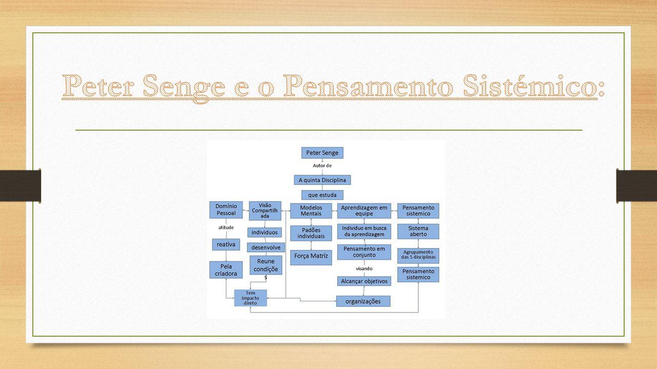 Peter Senge e o Pensamento Sistémico: