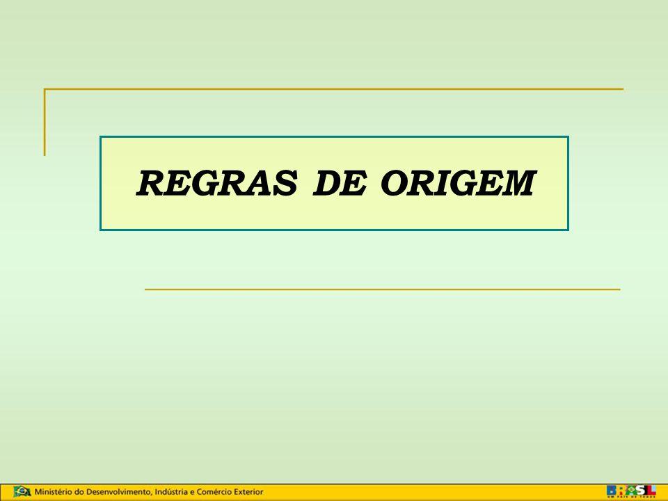 REGRAS DE ORIGEM