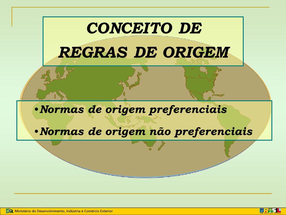 CONCEITO DE REGRAS DE ORIGEM