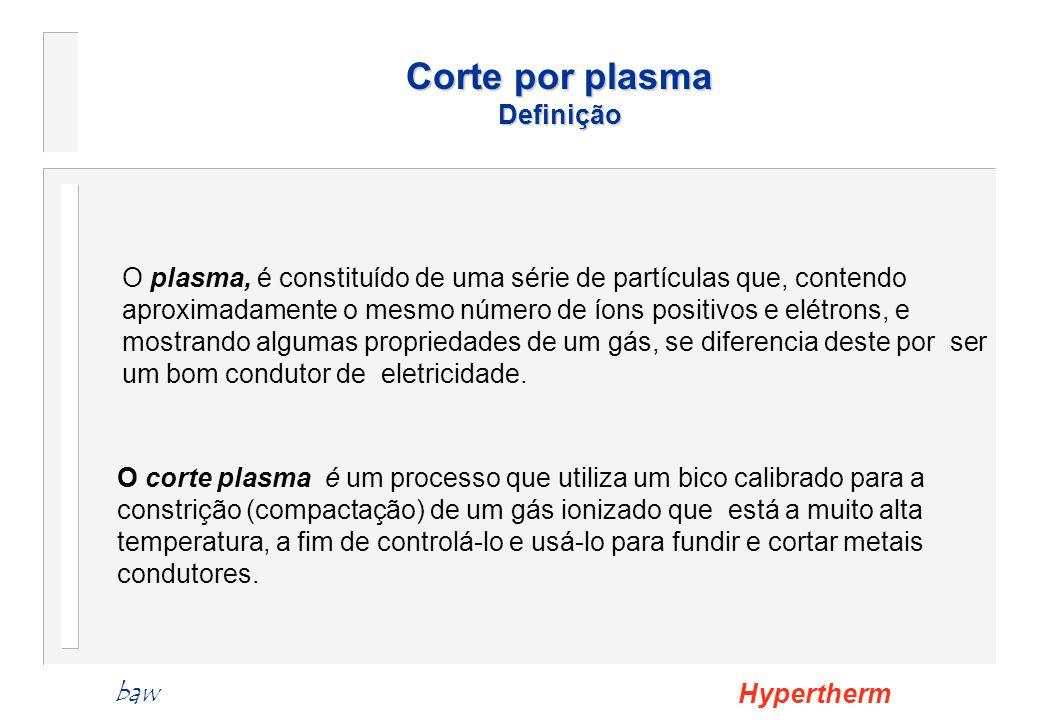 Corte por plasma Definição