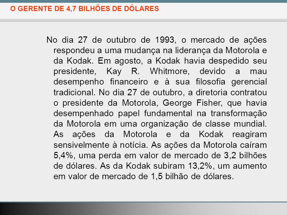 O GERENTE DE 4,7 BILHÕES DE DÓLARES