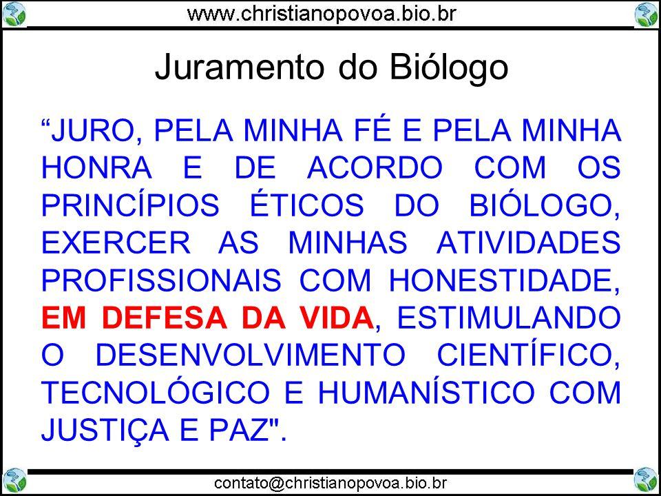 Juramento do Biólogo