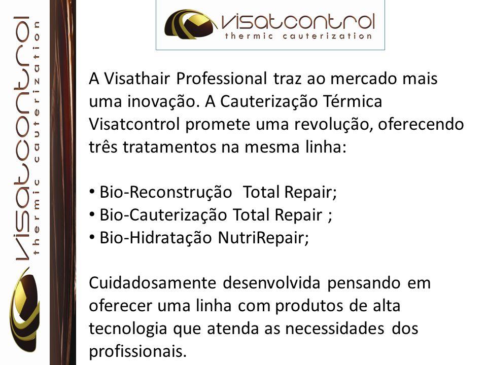 A Visathair Professional traz ao mercado mais uma inovação