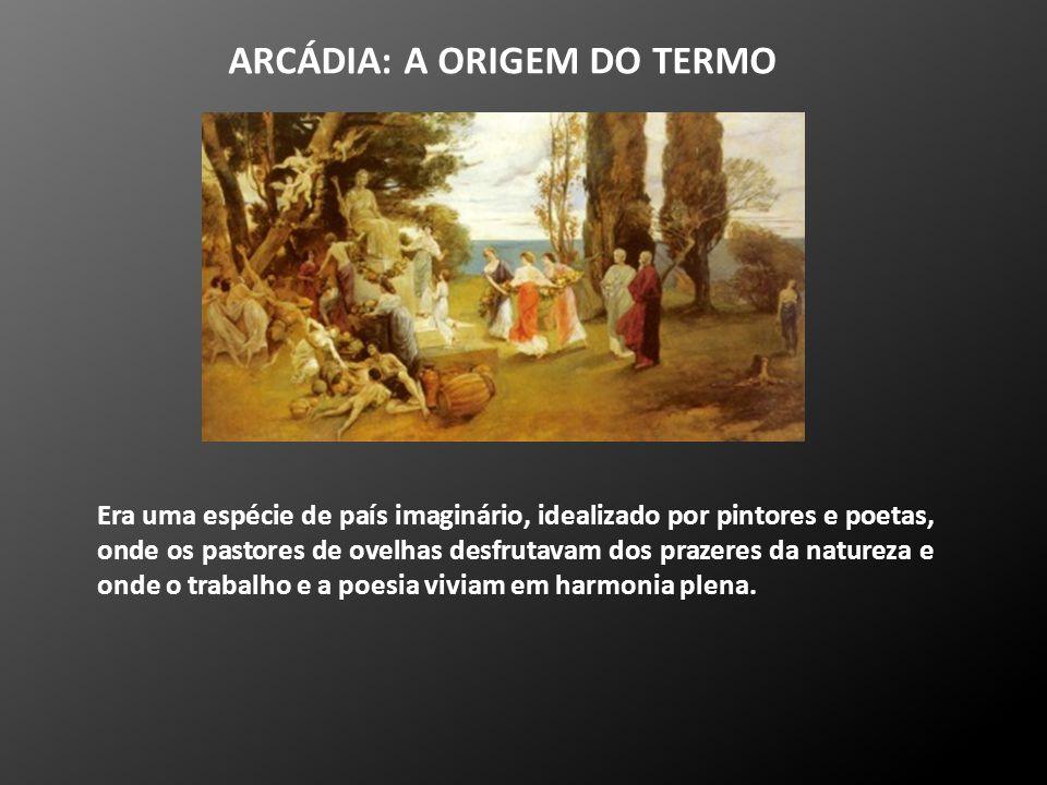 ARCÁDIA: A ORIGEM DO TERMO