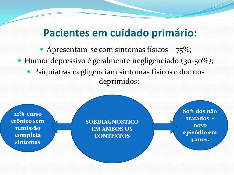 Pacientes em cuidado primário: