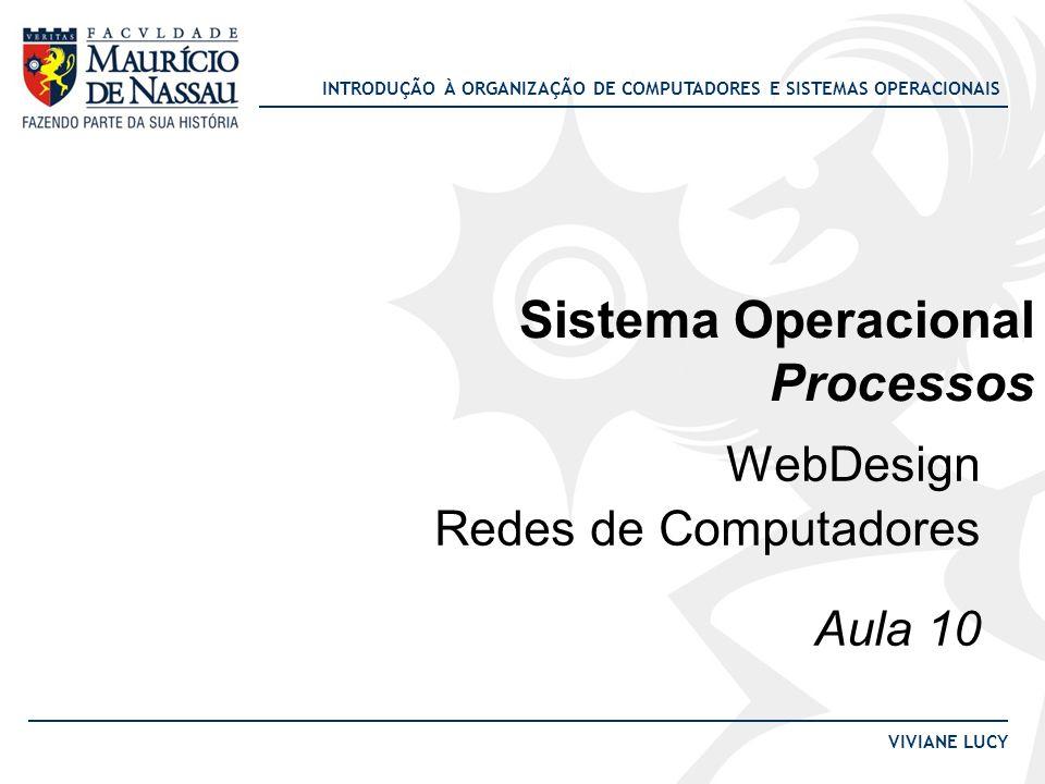 Sistema Operacional Processos