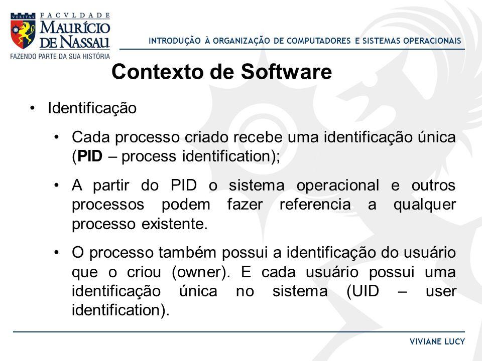 Contexto de Software Identificação