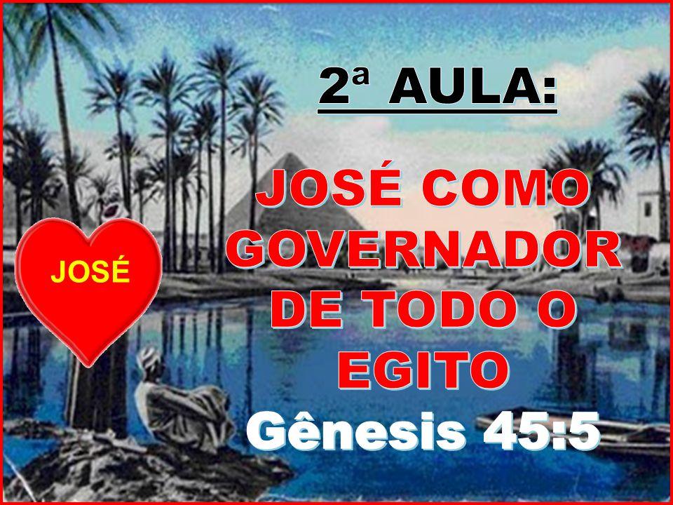 JOSÉ COMO GOVERNADOR DE TODO O EGITO