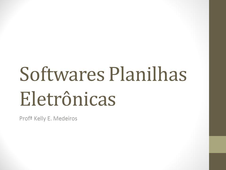 Softwares Planilhas Eletrônicas
