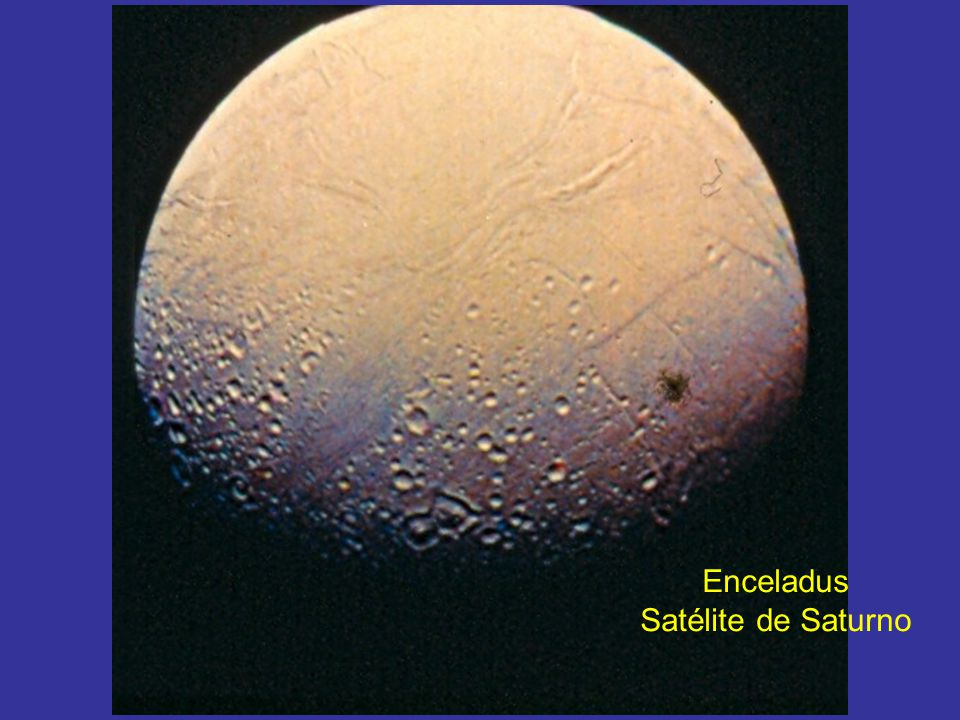 Enceladus Satélite de Saturno