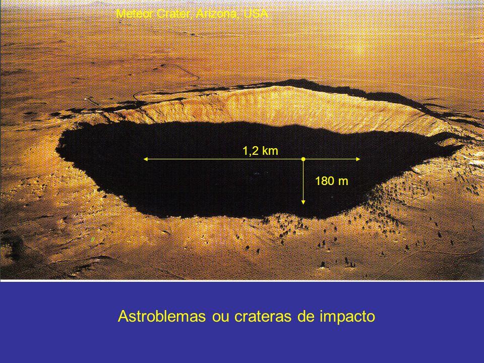 Astroblemas ou crateras de impacto