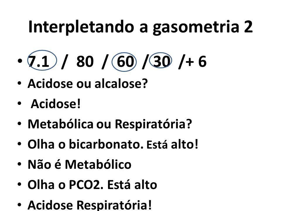Interpletando a gasometria 2