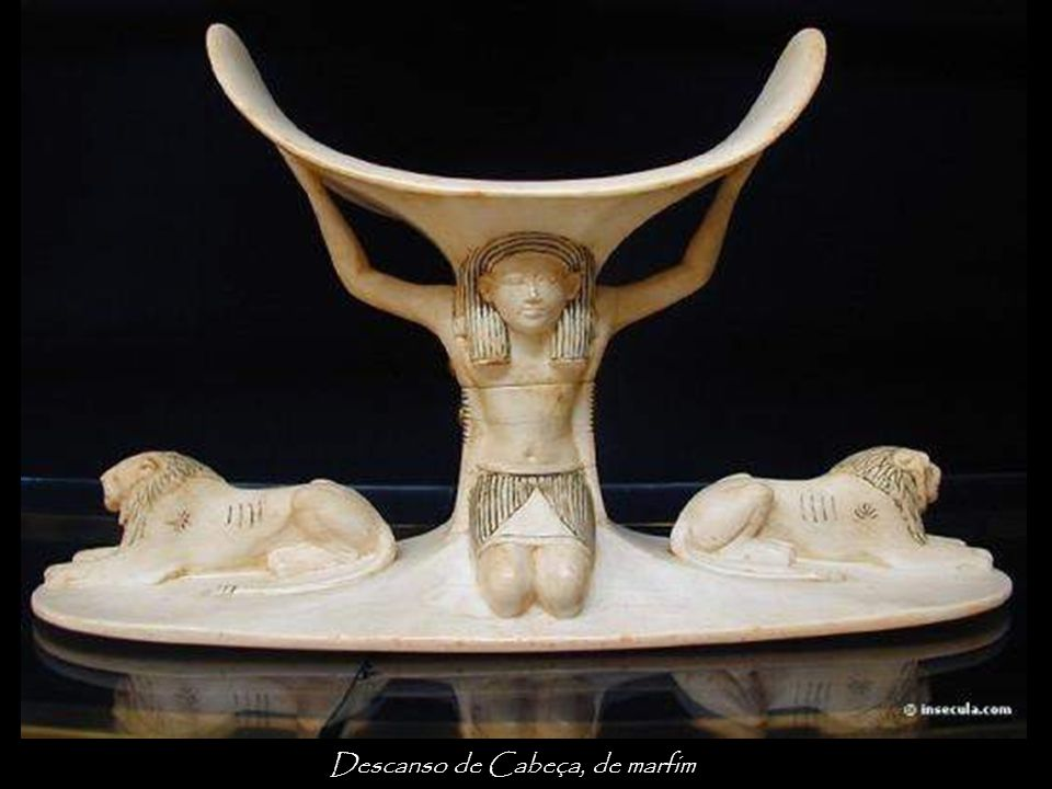 Descanso de Cabeça, de marfim