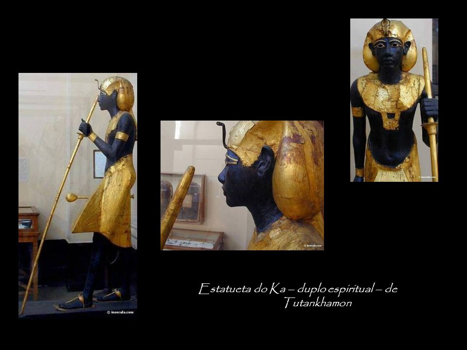 Estatueta do Ka – duplo espiritual – de