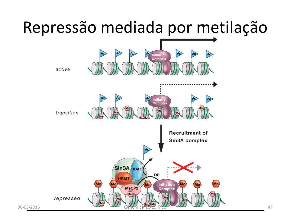 Repressão mediada por metilação