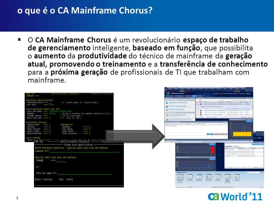 o que é o CA Mainframe Chorus