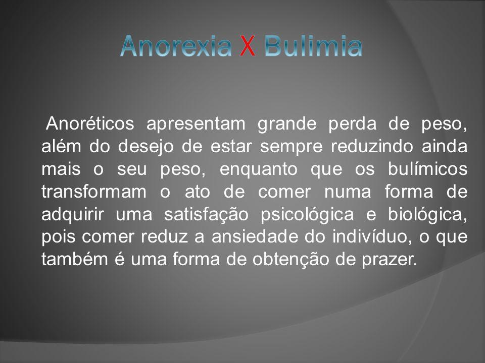Anorexia X Bulimia