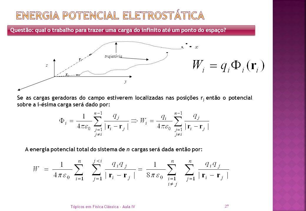 Energia potencial eletrostática