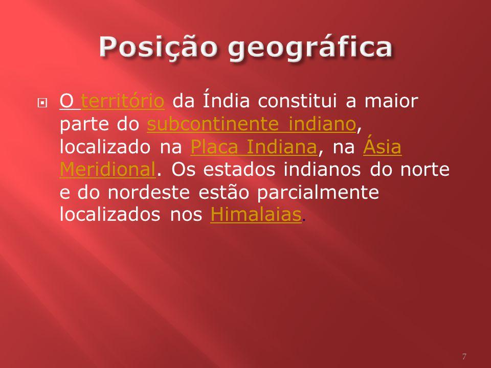 Posição geográfica