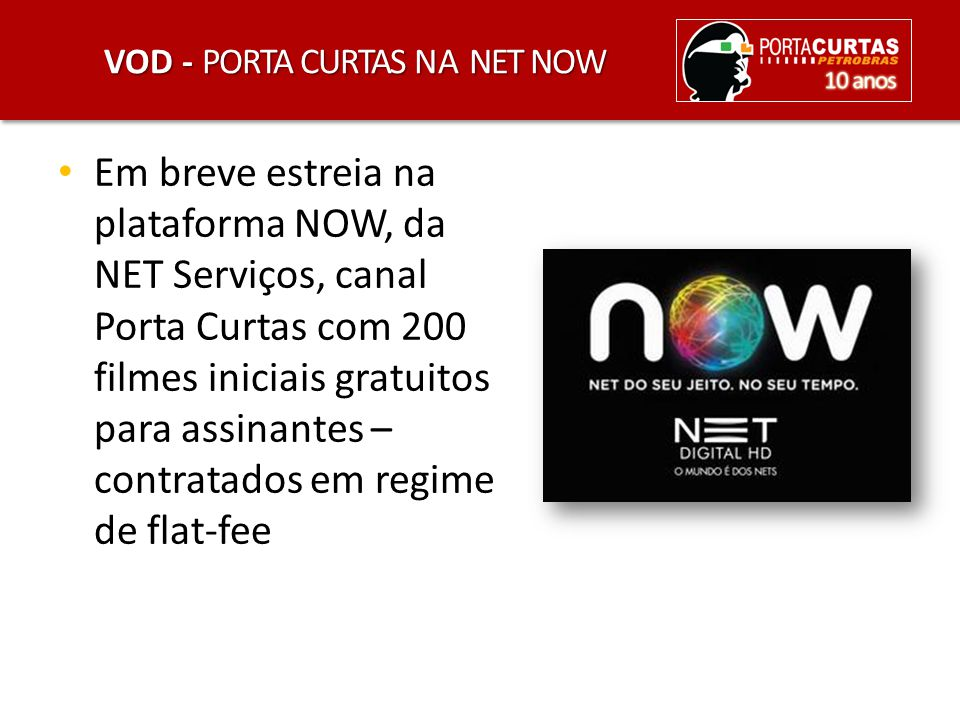 VOD - Porta Curtas na Net Now