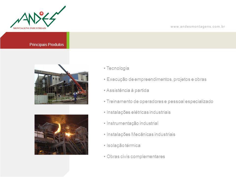 • Execução de empreendimentos, projetos e obras
